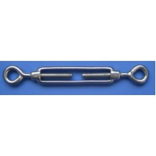 M12 Eye Eye Turnbuckle, 316 Grade Stainless Steel