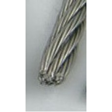 2.5mm Stainless Steel Wire by the meter, 7x7, 316 grade