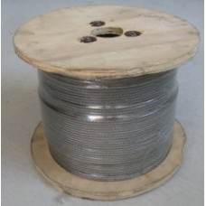 3.2mm Stainless Steel Wire, 305 meter roll, 7x7, 316 grade